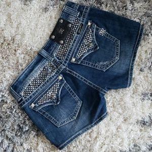 Miss Me Jean Shorts.  Size 30.